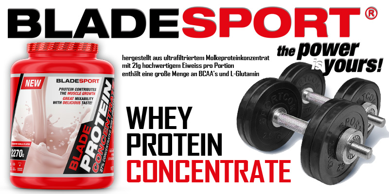Blade Whey Conzentrate