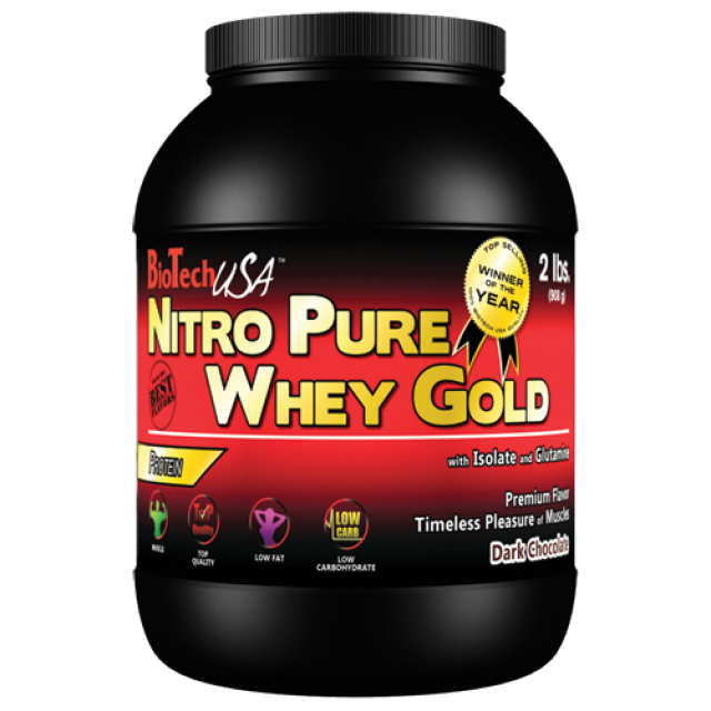 Bio Tech USA Nitro Pure Whey Gold 908g